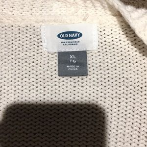 Old Navy Other - White cardigan! Size XL! Good condition!